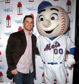 David Wright and his girlfriend.