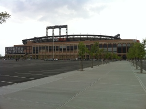 Citi Field and the emptiness surrounding it.